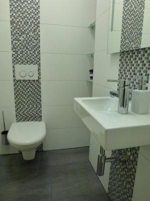 Moderne Wandfliesen mit Mosaik